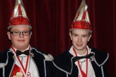 2015 Oskaris XI (Jarno van de Houtert) en Adjudant Dario (Bens)