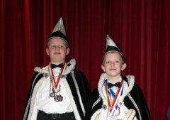 2009 Oskaris V (Koen Roelands) en Adjudant Kevin (Janssen)